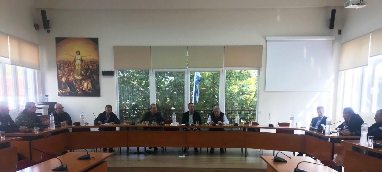 Αποτέλεσμα εικόνας για Συνεδρίαση του νέου Σ.Τ.Ο.  Πολιτικής Προστασίας Δήμου Θηβαίων