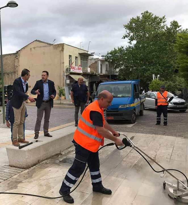 Νέο μηχάνημα απολύμανσης και πλύσης απέκτησε ο Δήμος Θηβαίων ...