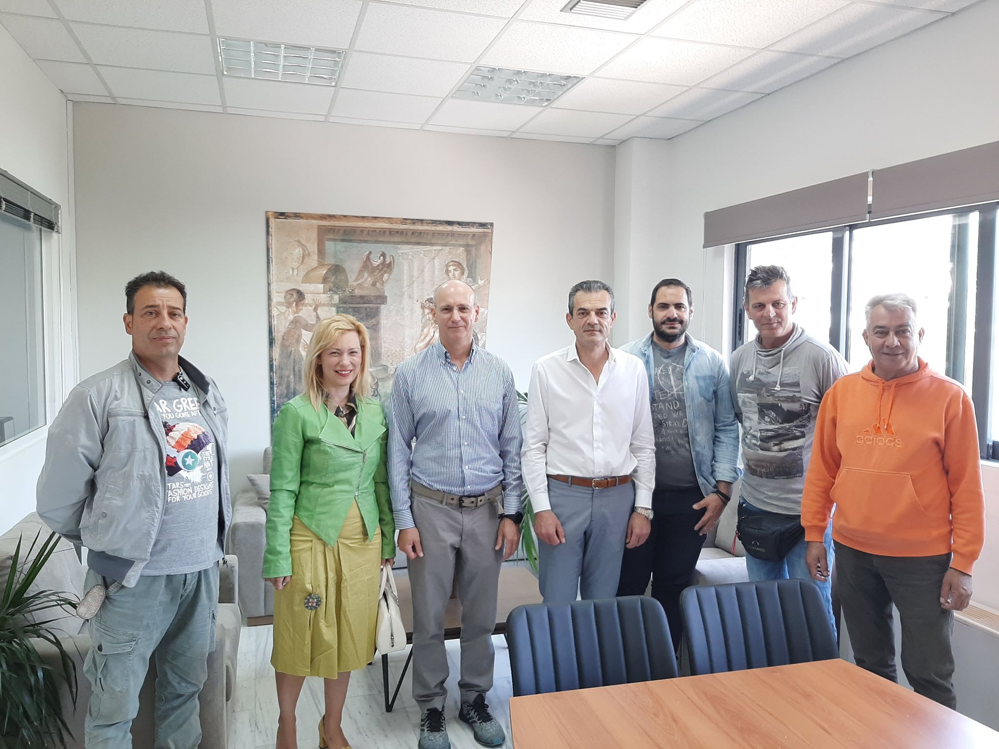 Συνάντηση Δημάρχου Θηβαίων με τον Αεραθλητικό Σύλλογο «Κιθαιρών»