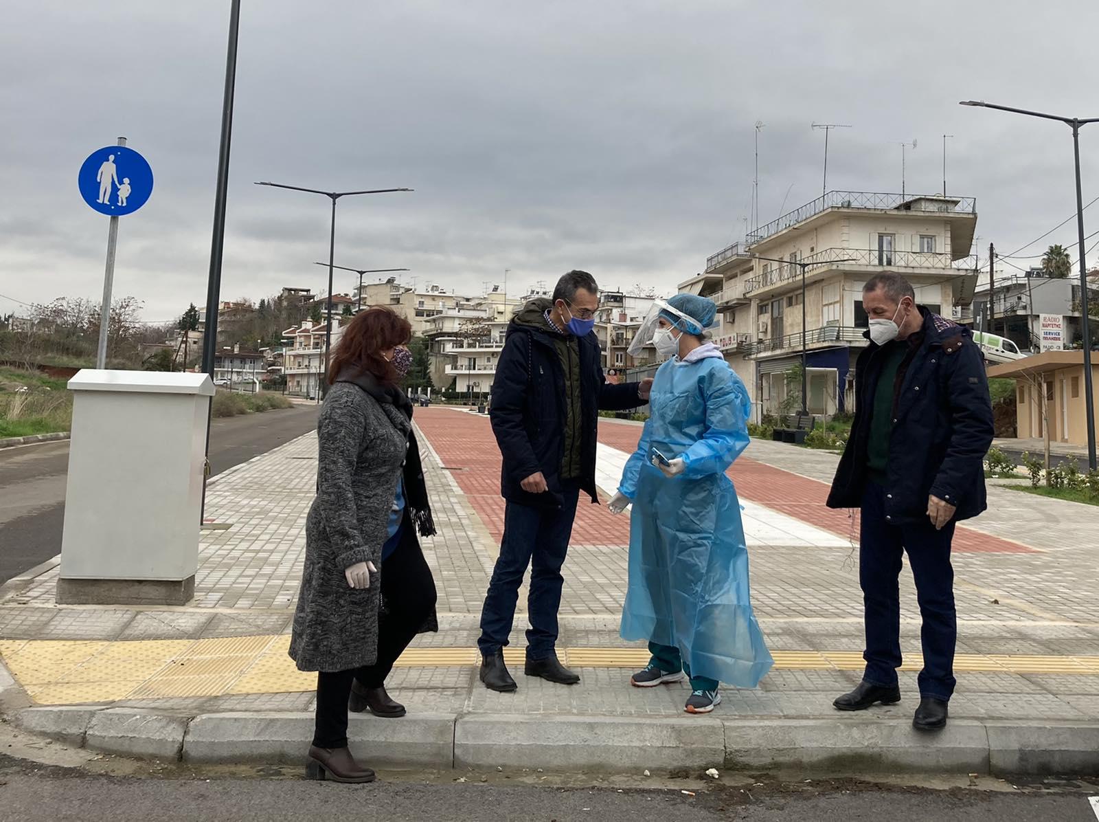 Δήμος Θηβαίων: Διεξαγωγή rapid tests την Τετάρτη μέσα από το αυτοκίνητο(drive-through)